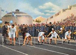 Афины, 1896 г. Бег на 100 м
