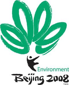 Экологическая эмблема Олимпийских игр 2008 года