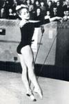 Абсолютная чемпионка мира москвичка Е. Карпухина. Копенгаген 1967 год.