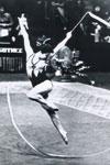 I-я абсолютная чемпионка Европы Г. Шугурова из Омска. 1978 год.