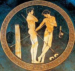 С 16 до 20 лет спартанские юноши обучались в группах-эйренах